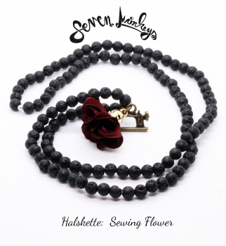 "Kette ""Sewing Flower"""